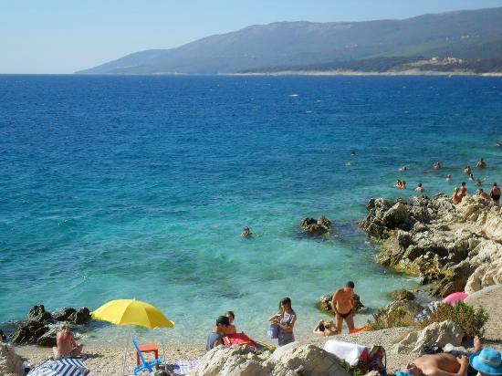 Valamar Girandella Resort: Spiaggia