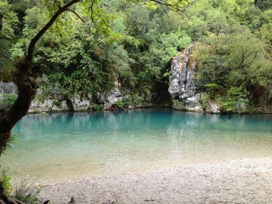 Zagorohoria, Greece: This is the cleanest river in Europe. just amazing