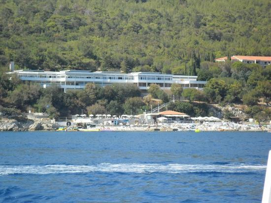 Girandella Tourist Village - TEMPORARILY CLOSED: ristorante visto dal mare