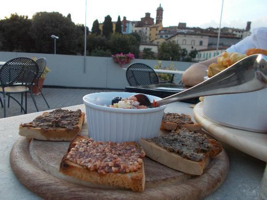 Pizzeria Ristorante Cirifo': bruschette dell'antipasto cirifò