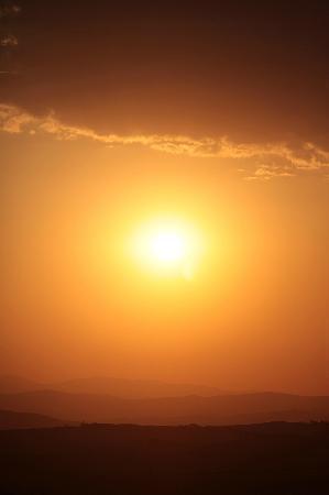 Residenza Il Poggiolo: tramonto dal poggiolo