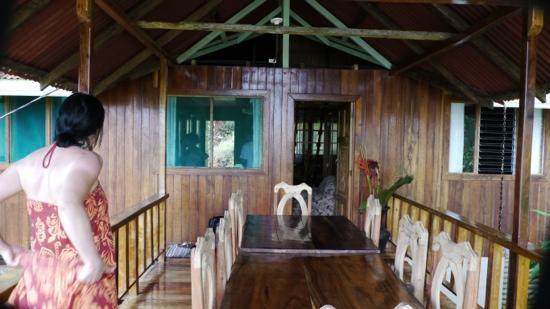 Casa Horizontes Corcovado: new Balkony