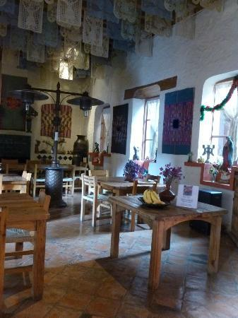 Hotel Casa Encantada: Dining room