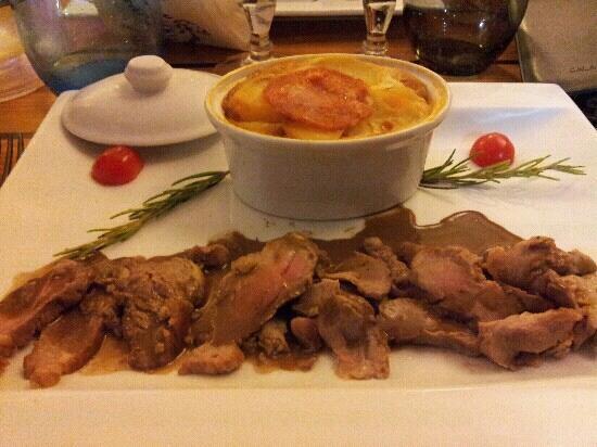 Le Merou Ardent: pluma de porc. d?licieux