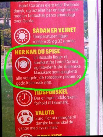 La Bussola: Giornale Danese  :-)