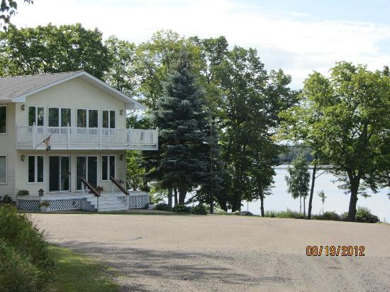 Maple Ridge Resort: Lovely view of Lake Michigamme
