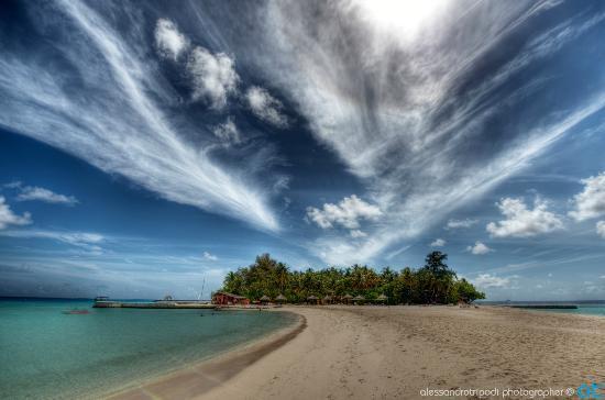 Maayafushi Island: Lingua di sabbia a Maayafushi