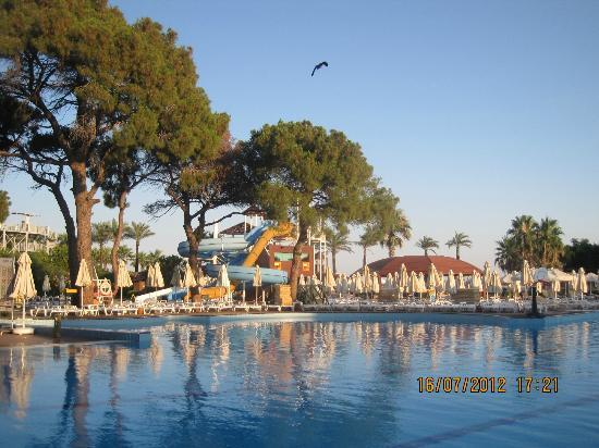 TUI Magic Life Belek: at 7.00 pm by the pool