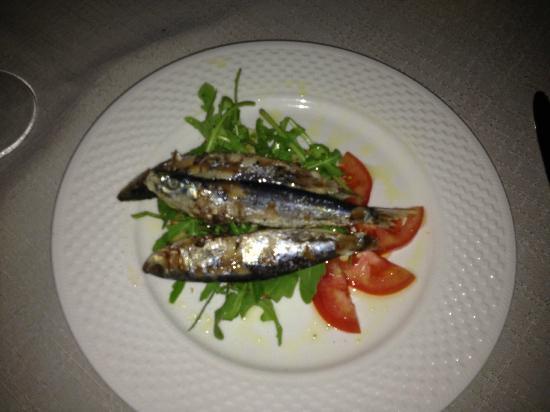 Restaurant Boccadoro: Sardines