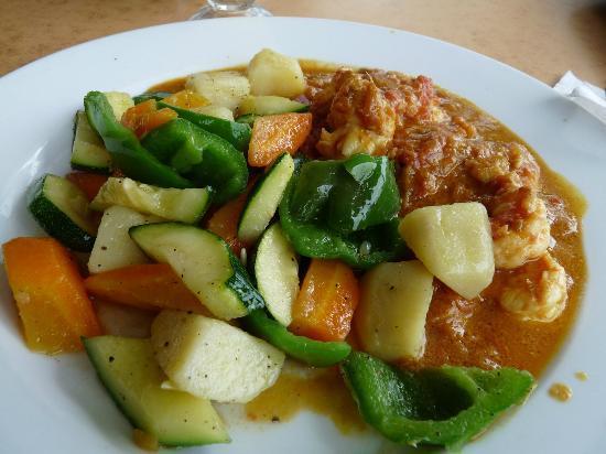 Archipelago : Curry de légumes et de poisson j'en ai encore l'eau à la bouche