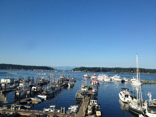 Coast Bastion Hotel: View from 6th floor - Nanaimo Harbour