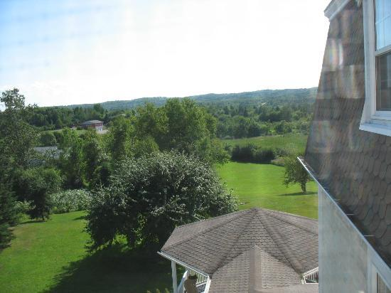 DesBarres Manor Inn: View from our room