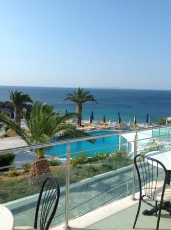 Princessa Riviera Resort: panorama dalla sala ristorante
