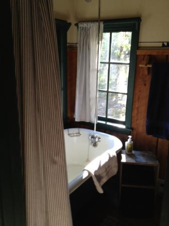 Willow Springs Cabins: bathroom