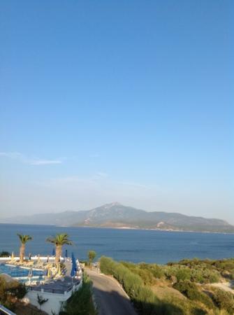 Princessa Riviera Resort: Vista della costa turca