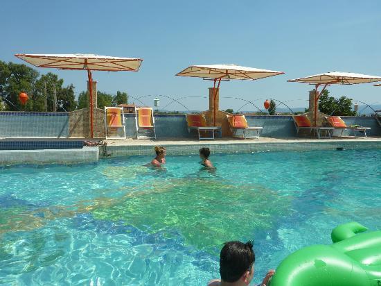 Malemi Organic Hotel: der Pool