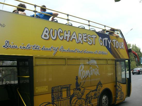 Bucharest Hop-on/Hop-off Sightseeing Bus tour