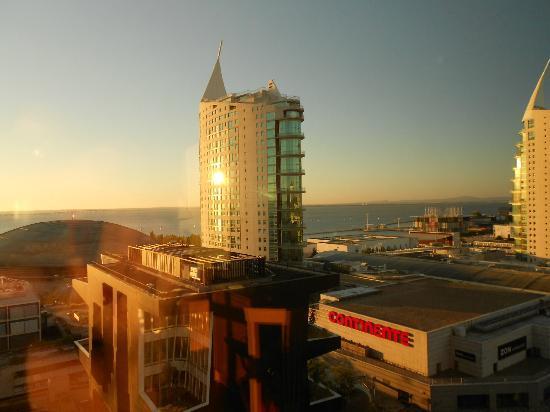 TRYP Lisboa Oriente Hotel: veduta dalla camera