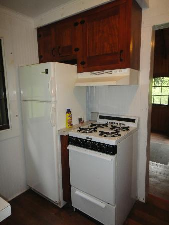 Gilbert Lake State Park: kitchen