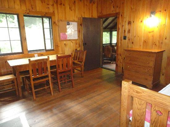 Gilbert Lake State Park: main room