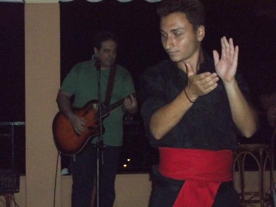 Theo's Hotel: Spiro's The lovely Greek Dancer.