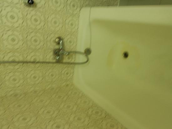 VIP Executive Diplomatico Hotel: pulizia della vasca all'arrivo