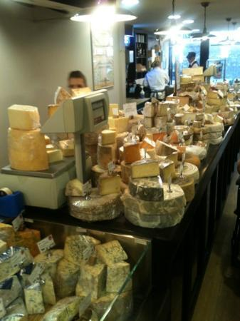 Paxton & Whitfield: super range of cheese