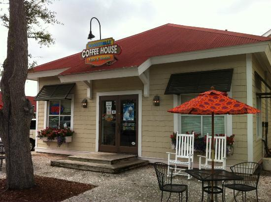 Front View Picture Of Boardwalk Coffee House At Barefoot