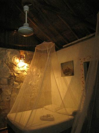 L'Hotelito: Mosquito net to protect our sleep