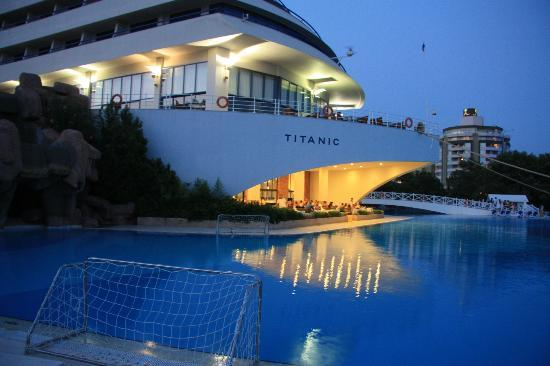 Hotel Viewsoutside Of The Restaurant Picture Titanic Beach Lara Hotel Antalya TripAdvisor