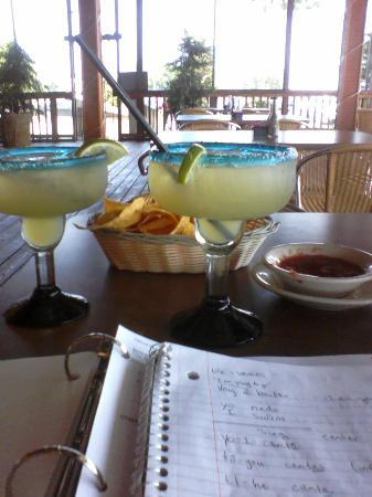 Don Jose Mexican Restaurant: Studying my Spanish over lunch...