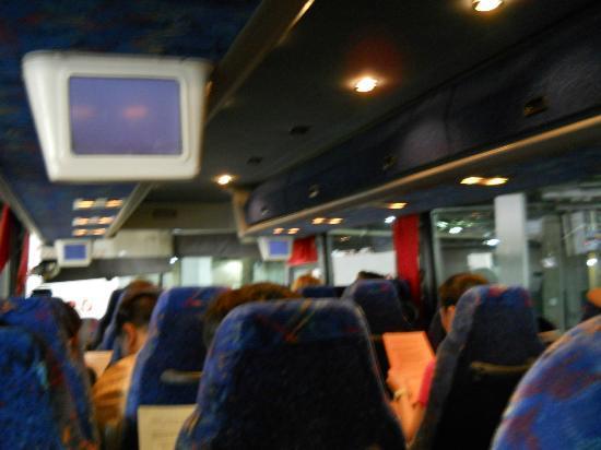 Grand Canyon Tours: Interior Of The Tour Bus