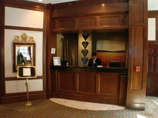 The Berkeley Hotel: very pleasant and friendly staff