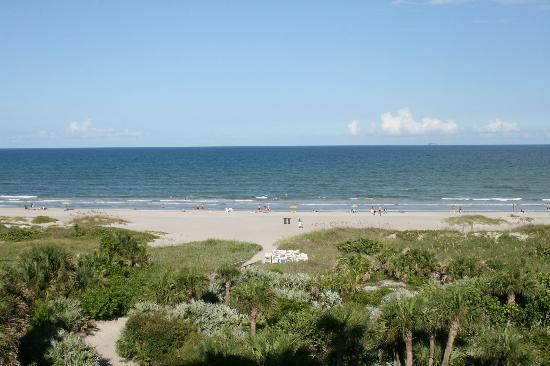 Resort on Cocoa Beach: View from Oceanfront Balcony