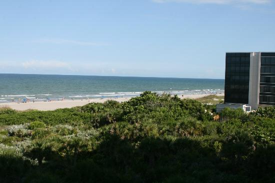Resort on Cocoa Beach: View South