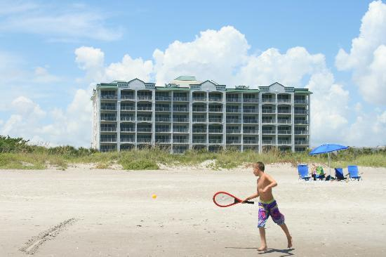 The Resort on Cocoa Beach: Property from the beach