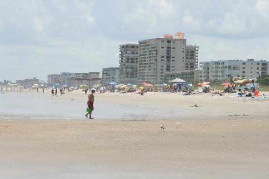 The Resort on Cocoa Beach: View south on the beach