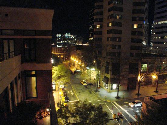 The Berkeley Hotel : views of Richmond from top floor