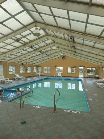 Comfort Inn Mercer: Pool Area