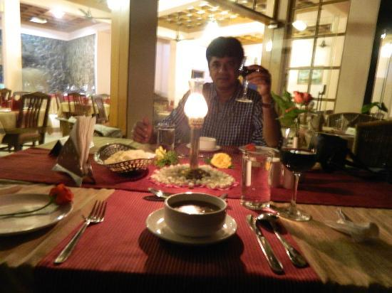 Wild Corridor Resort and Spa by Apodis: Candle light dinner