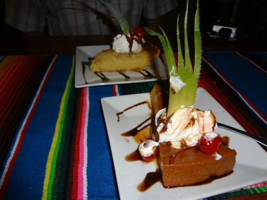 Athens Gate Beach Resort: Caramba's desert