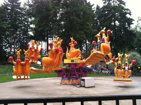 Federal Way, Etat de Washington : kangaroo ride