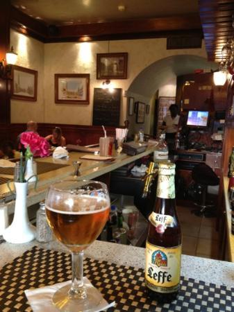 Brussels Bistro: at the bar