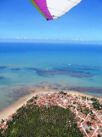 Vista do alto Pontal do Peba/Piaçabuçu - ALAGOAS