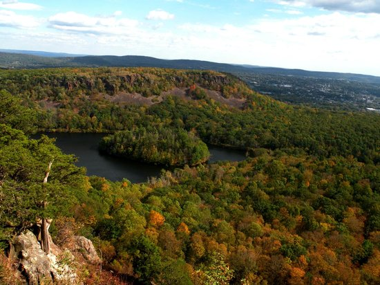 Meriden, CT: View from Castle Craig