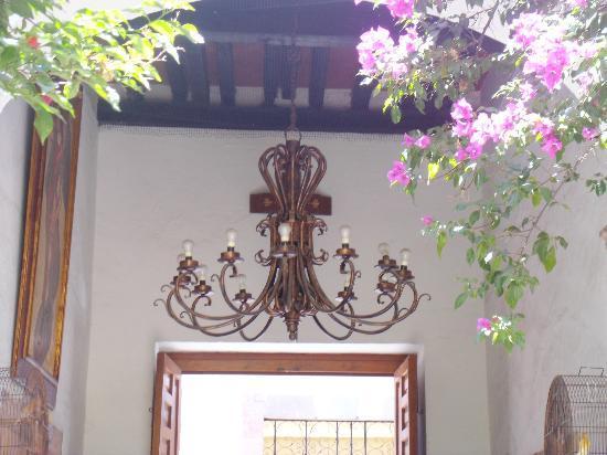 Hotel Villa del Villar: Entrada del hotel