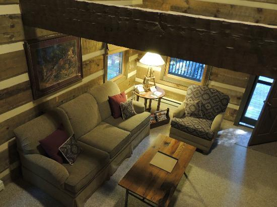Savage River Lodge: Livinroom