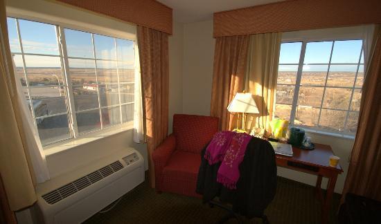 La Quinta Inn & Suites Santa Rosa: Corner Room