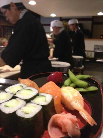 Kobe-an Japanese Restaurant: Kid's Sushi plate