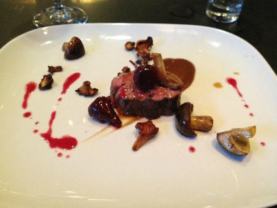 Salt of the Earth: meat: lamb, beet, musroom, beets, black garlic